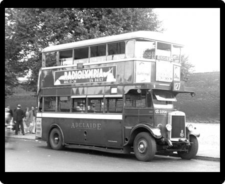 BUS. A LEYLAND LONDON BUS